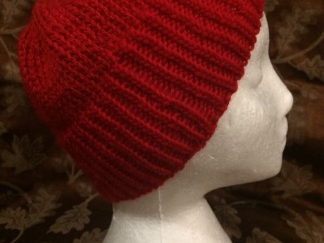 Red Knit Beanie (aka Team Zissou)