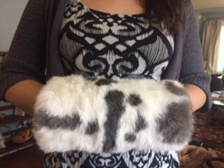 Custom Fur Muff for Kathy