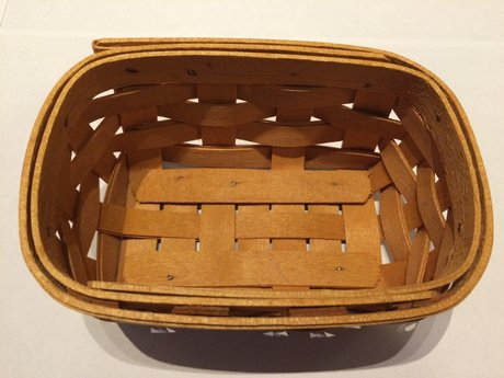 Small Handwoven Basket -Made in USA