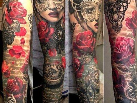 Tattooist, body piercer, painter