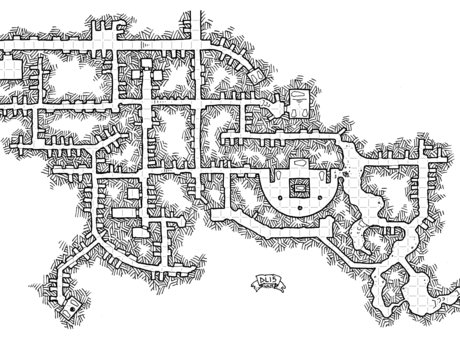 Make a Small Dungeons & Dragons Map