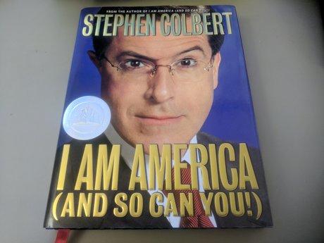 Hardcover-Colbert: I am America...