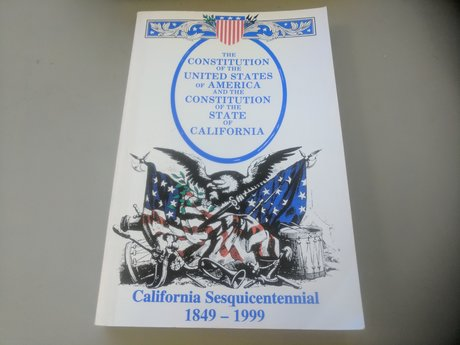 Paperback-CA and US Constitution