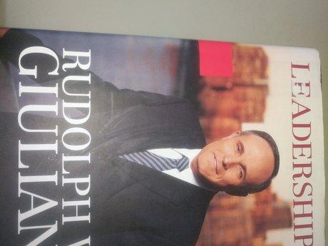 "Hardback- Giuliani ""Leadership"""