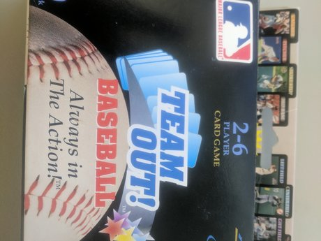 NEW IN BOX - Card Game - Baseball