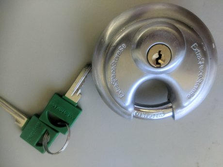 Storage locker Lock - As new