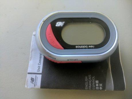 New Balance Pedometer