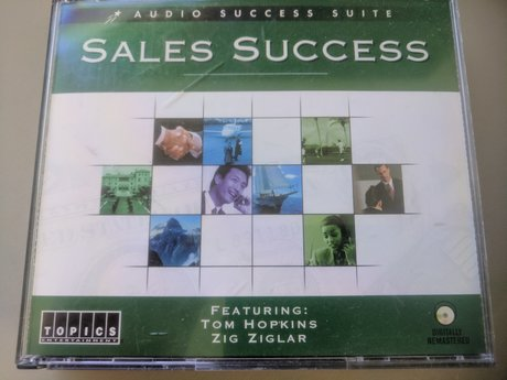4 CD Sales Success Audio book for M