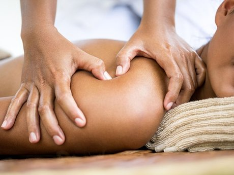Trigger point release massage.