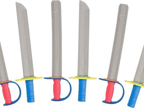 Learn to make a foam boffer sword!