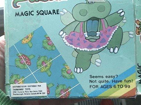 Magic Square game