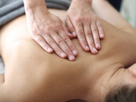 Give a 10-15 Min Back Massage