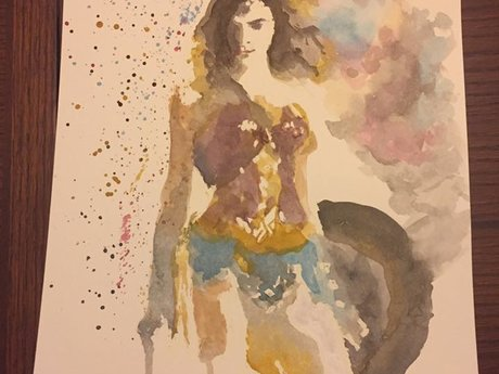 Superhero or Character Painting Abs