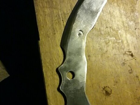 Backswept TillerBlade Knife