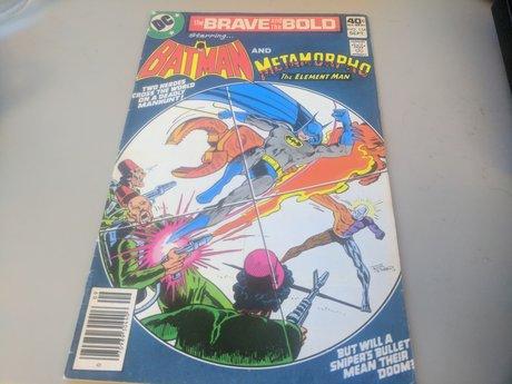1979 - BATMAN & METAMORPHO #154