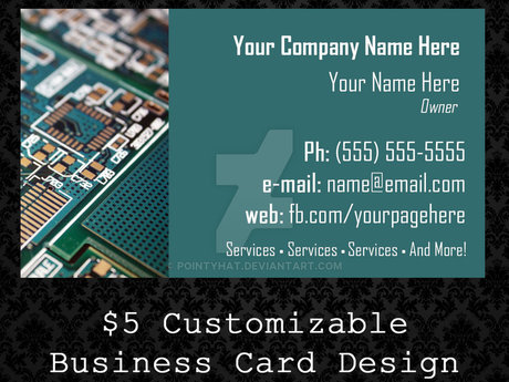 $5 Business Card Designs