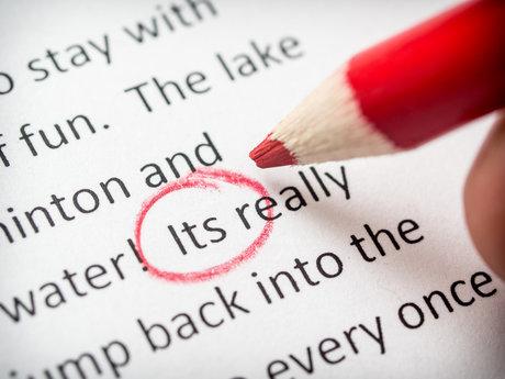 Proofreading & Copyediting