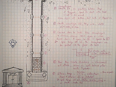 Dungeon Design & Sketches