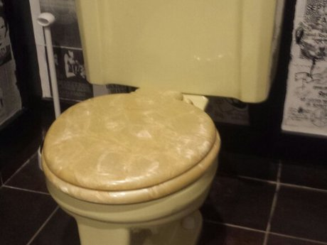 Toilet install 2nd floor/basement