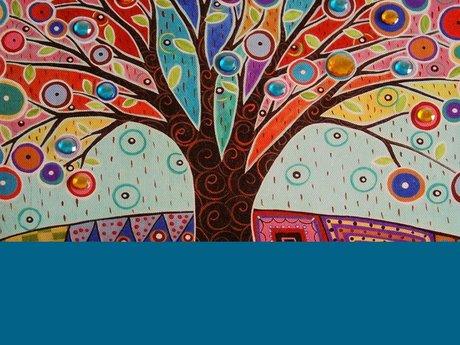 Shamans Tree Spirit Flag Blessing