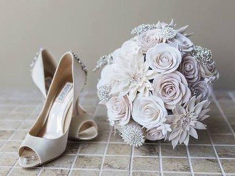 Custom Clay Wedding Bouquet