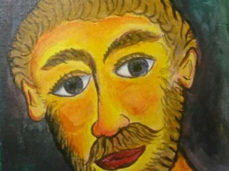 Man's face