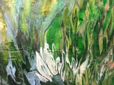 Fine Art: Abstract Organic Painting