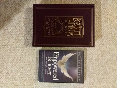 Schuller Bible and Robinson DVD