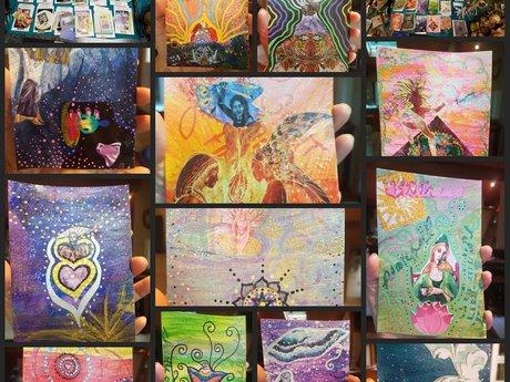 Intuited Art Medicine Card