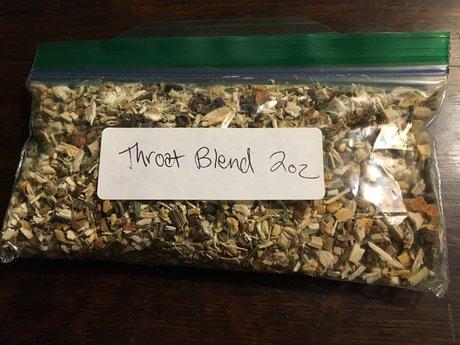 Throat Soother Herbal Tea