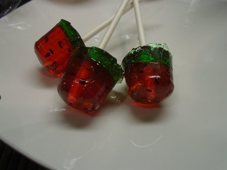 Watermelon Lollipop