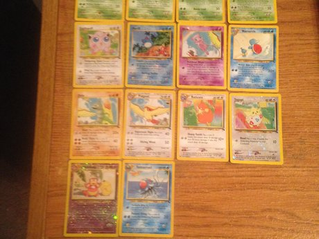 Pokémon Southern Island partial set