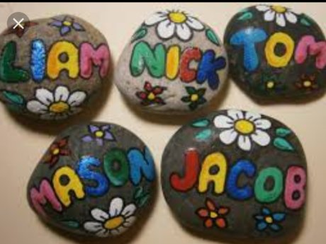 Personalized custom rock