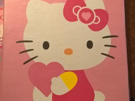 Hello Kitty Valentines cards