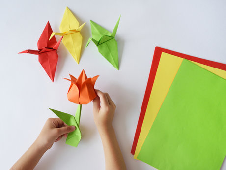 Origami Cranes or Another Shape