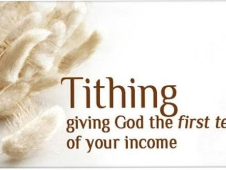 Money to the church of Jesus Christ