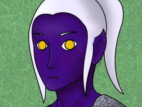 Simple Character Portrait