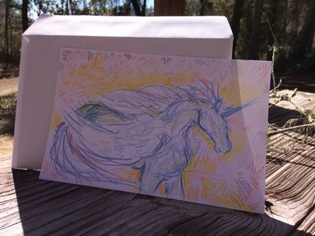 Custom Unicorn Sketch