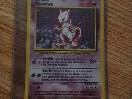 Pokemon Card - Mewtwo 10/102