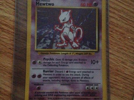 Pokemon Card - Mewtwo 10/102