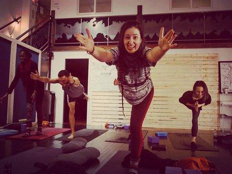 30 min personalized yoga video!