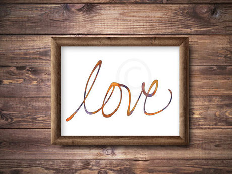 Cursive Love poster