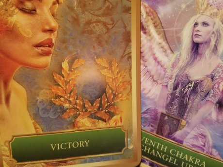 Intuitive Oracle Card Readings.