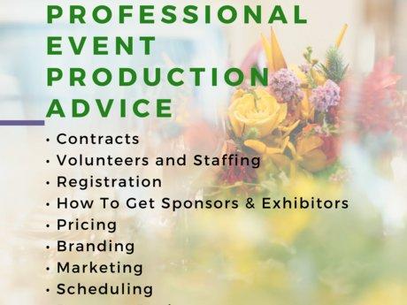 30 Min Event Production Advice