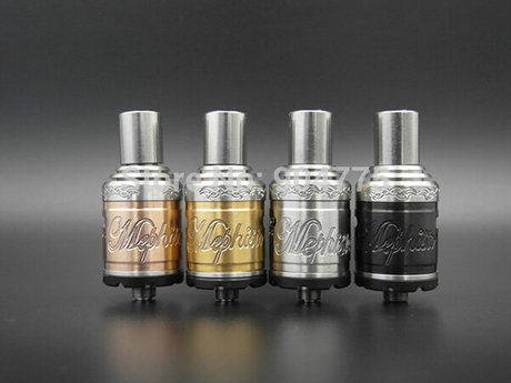 E cigarette rda builds