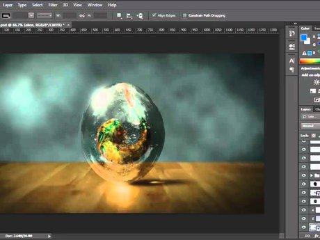 Photoshop retouching and editing