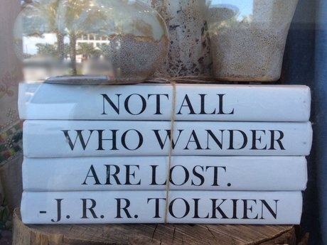 Tolkien Quote Magnet Postcard