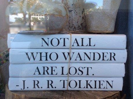 Tolkien Quote Magnet Postcard