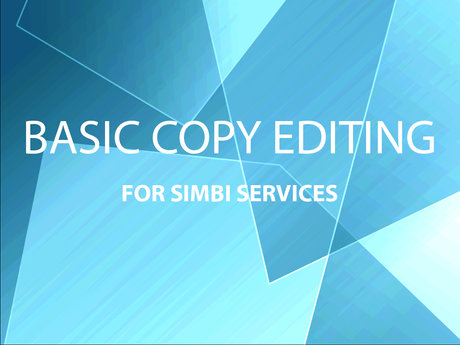 Copy Edit Your Simbi Service