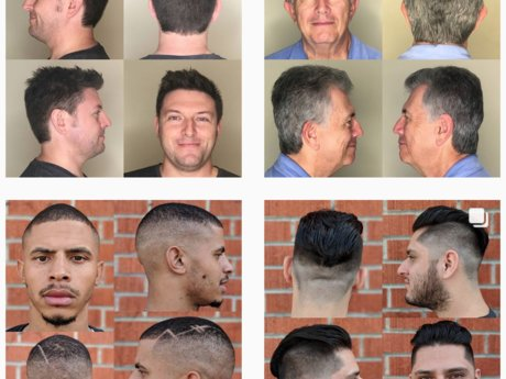 One Men's Haircut